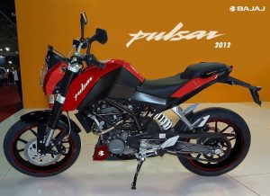 New Bajaj Pulsar 2012