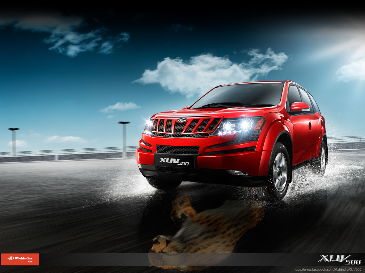 Mahindra XUV-500 wallpaper