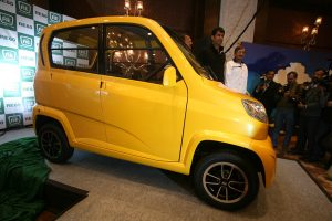 Bajaj's ultra low cost car RE60