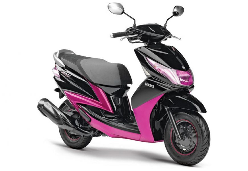 Online booking of Yamaha Scooter RAY