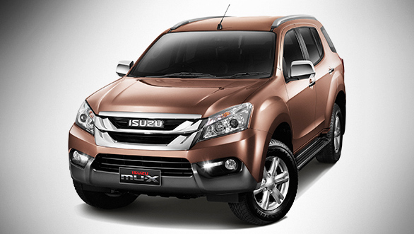 Isuzu MU-X launching soon to rivals Toyota Fortuner, Ford Endeavour & Trailblazer
