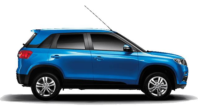 Maruti Suzuki Brezza Blue
