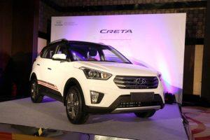 Hyundai Creta Anniversary Edition at Launch Event