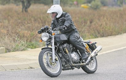 Finally Royal Enfield working on 750cc engine bike