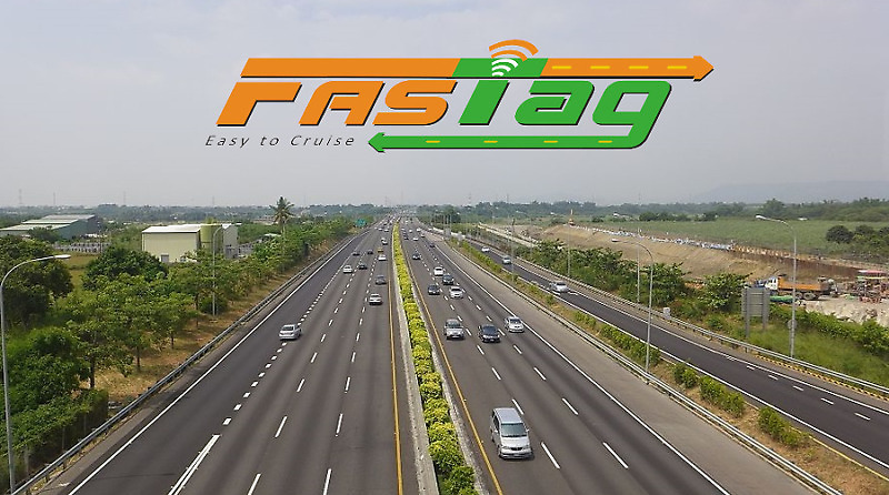 FASTag Toll Plaza and Booth Representation