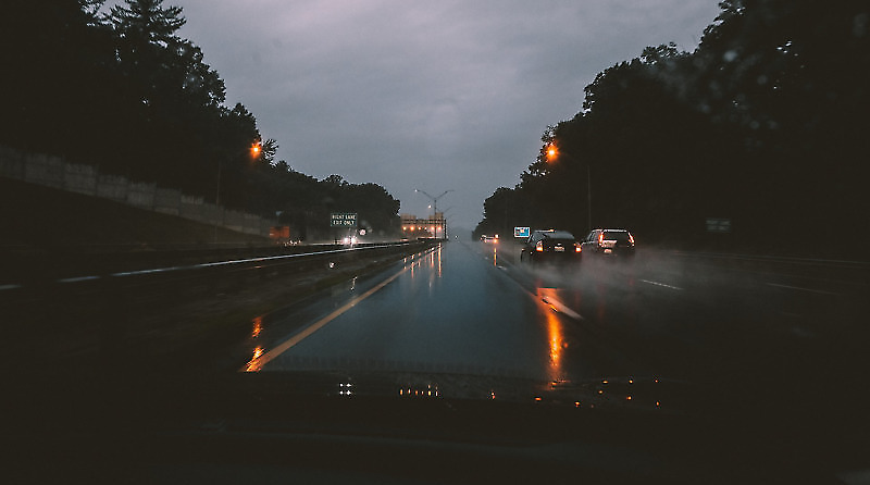 Highway Monsoon Driving
